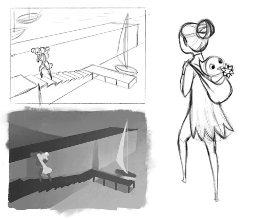 Monument valley Sketches